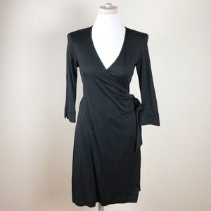 DVF Maternity 100% Silk Julianetta Wrap Dress